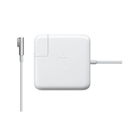 Carregador Apple MagSafe MD556E/A de 85 Watts p/ MacBook Pro - Branco.