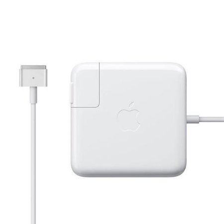 Carregador Apple MagSafe 2 MD506E/A de 85 Watts p/ MacBook Pro - Branco.