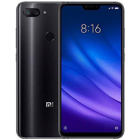 "Smartphone Xiaomi Mi 8 Lite Dual SIM 64GB de 6.26"" 12+5MP/24MP OS 8.1.0 - Preto"