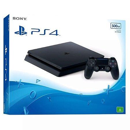 Console PlayStation 4 Slim 500GB - Preto - Bivolt