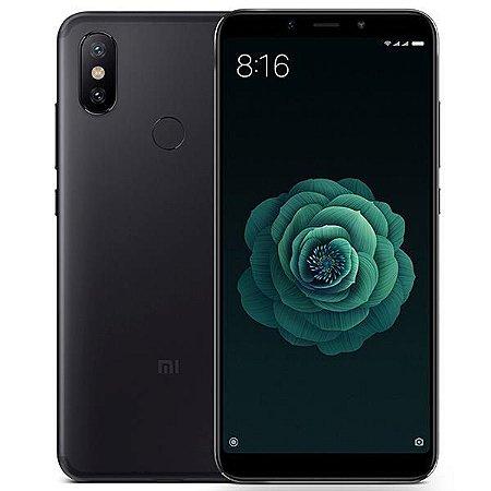 "Smartphone Xiaomi Mi A2 Dual SIM 128GB de 5.99"" 12+20MP/20MP OS 8.1.0 - Preto"