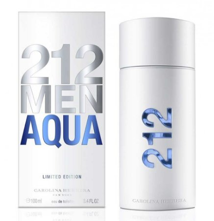 212 Men Aqua Carolina Herrera Masculino Eau de Toilette 100ML