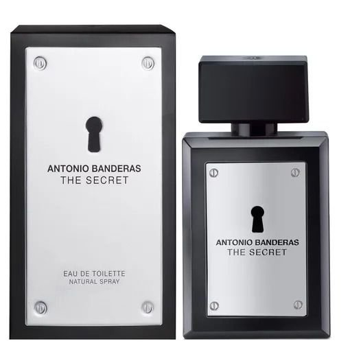 PERFUME ANTONIO BANDERAS THE SECRET MASCULINO EAU DE TOILETTE  200 ML
