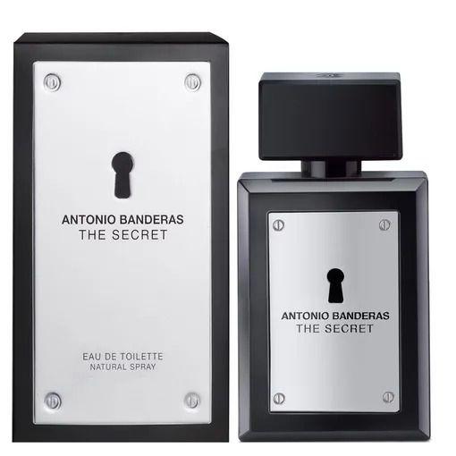 PERFUME ANTONIO BANDERAS THE SECRET MASCULINO EAU DE TOILETTE  100 ML