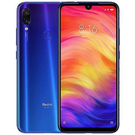"Smartphone Xiaomi Redmi Note 7 Dual SIM 64GB de 6.3"" 48+5MP/13MP OS 9.0 - Azul Neptune"