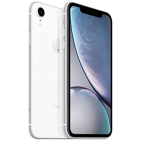 "Apple iPhone XR A1984 64GB Tela Liquid Retina 6.1"" 12MP/7MP iOS - Branco"