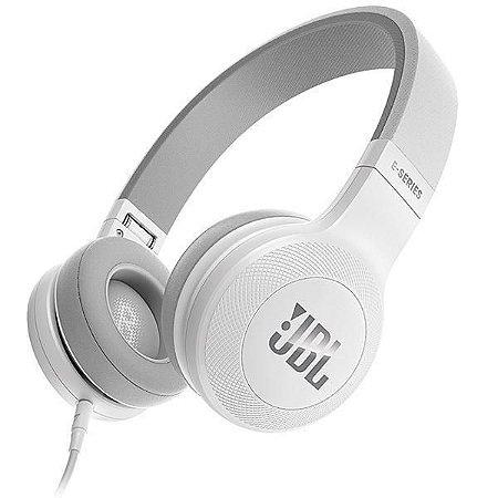 Fone de Ouvido JBL E35 Mini Jack 3.5 mm com Microfone - Branco