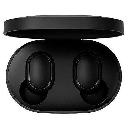 Fone de Ouvido Sem Fio Xiaomi Redmi Airdots com Bluetooth - Preto