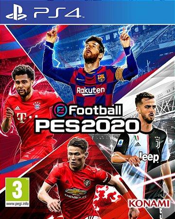 Jogo  Soccer eFootball PES 2020 - PlayStation 4