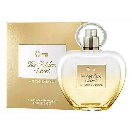Perfume feminino antonio banderas her gold secret - 80 ml