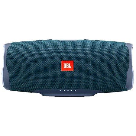 Speaker JBL Charge 4 30 watts RMS com Bluetooth/USB Bateria 7.500 mAh - Azul