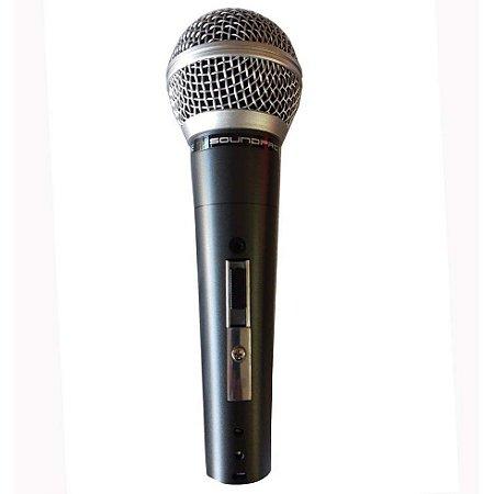 Microfone Profissional Sound Pro Sp58b