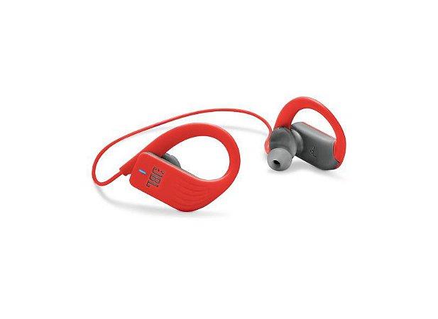 Fone de ouvido jbl endurance sprint bt vermelho, azul e preto