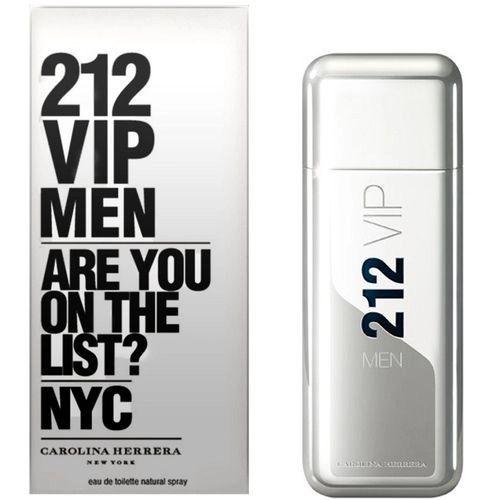 Perfume 212 Vip Men Carolina Herrera 100ml - 200ml