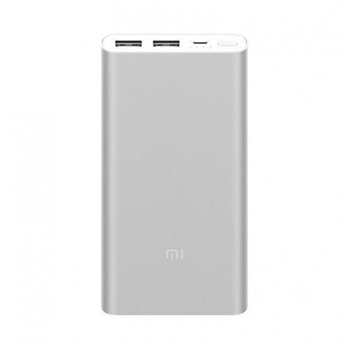Carregador Portátil Xiaomi Mi Power Bank 2s Slim 10000mAh