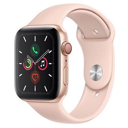Apple Watch Series 5 GPS, 44 mm, Rose/Gold - Produto de Vitrine