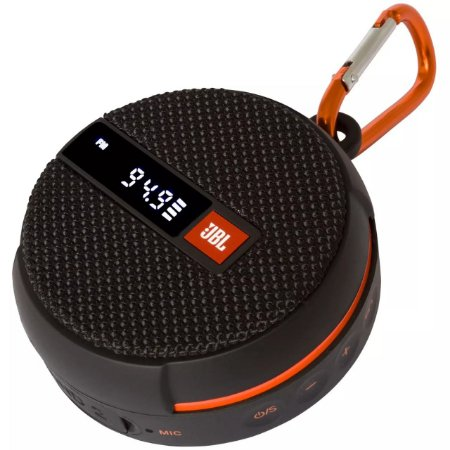 Caixa de Som Portátil JBL Wind 2, Bluetooth, À prova d'água, Preto