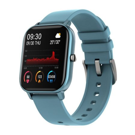 Colmi P8 GTS Azul Ciano Smartwatch Full-Touch