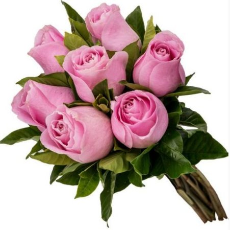 Buquê 7 rosas Roxas