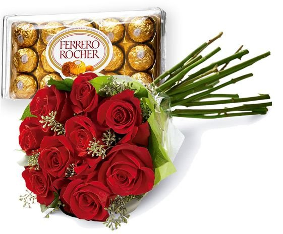 Buquê e Ferrero