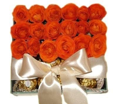 Mini Rosas e Ferrero