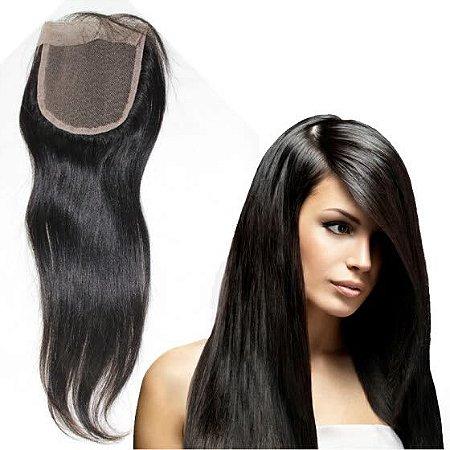 Top closure- Protese de acabamento de topo cabelo humano