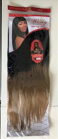 Pacotão cabelo orgânico liso ombre