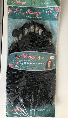 Pacotão cabelo orgânico cacheado
