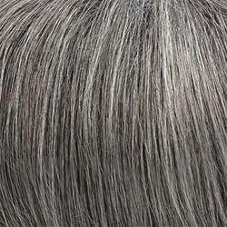 Peruca Pixie Cabelo humano curta Barbara 44 grisalha
