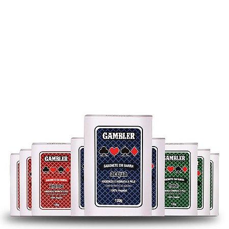 Kit com 9 Sabonetes (9x120g) | Gambler