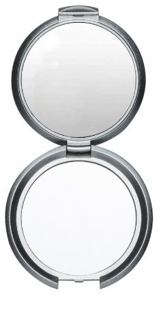 Espelho Duplo Sem Aumento Redondo. Cód. 232