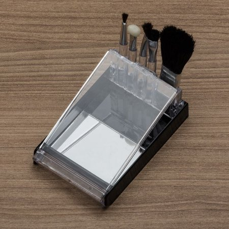 Kit Pincel 5 Peças em Estojo Plástico com Visor Transparente. Cód. 774
