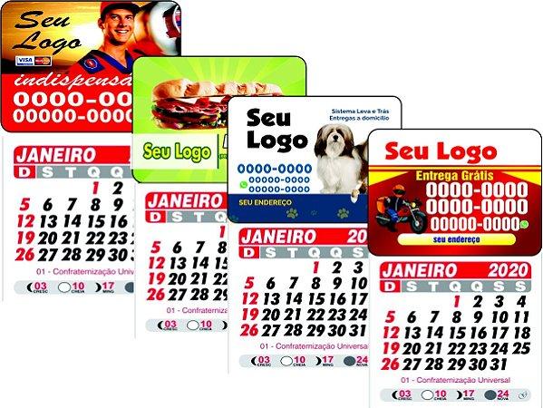 Ímã de Geladeira  5X4CM com calendário - SG005