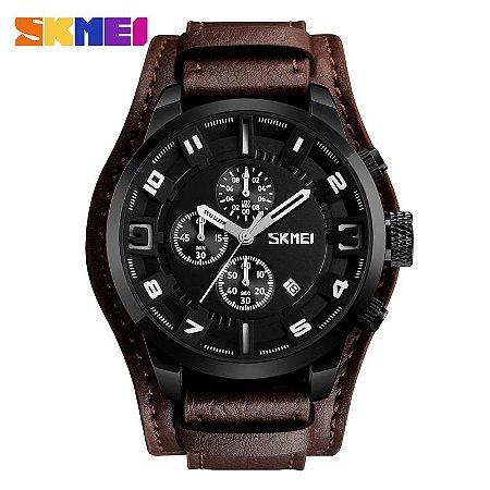 d6ed22e1496 SKMEI Novo Esporte Da Moda Relógios de Quartzo Homens de Negócios de ...