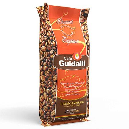 Café Guidalli Expresso 1kg. Preço para pedido de 5 kgs.