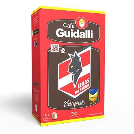 Café Guidalli Leoas da Serra 250g. Preço para pedido de 5 kgs.