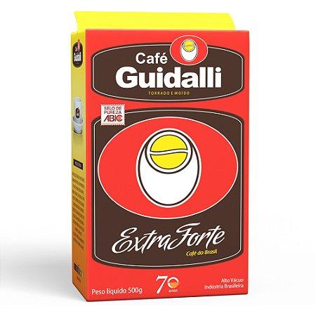 Café Guidalli Extra Forte 500g. Preço para pedido de 10 kgs.