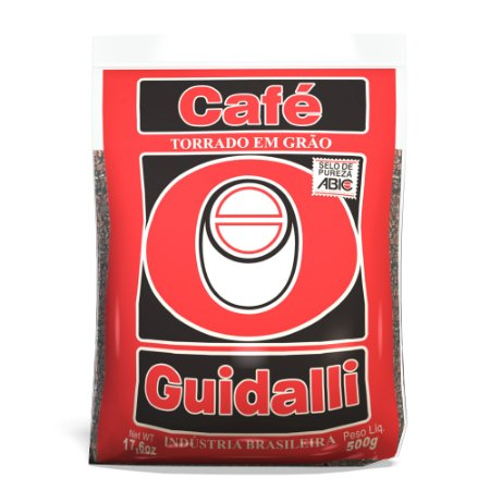 Café Guidalli Grão Tradicional 500g. Preço para pedido de 5 kgs.