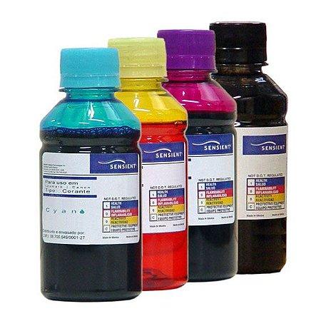 Refil de Tinta Sensient para Impressoras Mega Tank G-5010, G-6010, G-7010, GM-2010, GM-4010, GI-10 da Canon