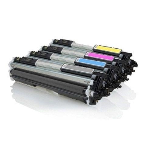 Kit 04 Toner Premium Compatível com Impressoras CP1025 | CE310A | CE311A | CE312A | CE313A | 126A da HP