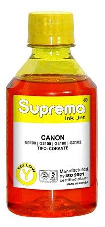 Tinta Canon Impressora G1100 G2100 G3100 G3102 G4100 - Amarelo Corante