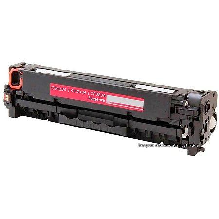 Toner HP Magenta CM2320 | CP2025 | M375 | M475 | M451 | M471 - CF383A, CE413A, CC533A - Magenta