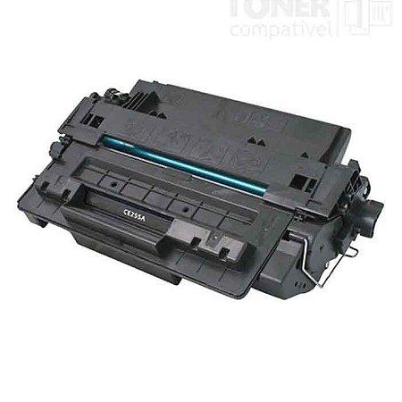 Toner HP CE255A 55A | P3015, P3015N, P3015DN, P3016, Enterprise 500 M525F | Compatível 6k