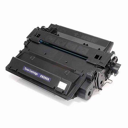 Toner Compatível CE255X 55X | P3015, P3015N, P3015DN, P3016, Enterprise 500 M525F | Compatível 10k