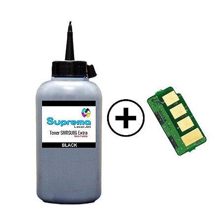 Refil de Toner + Chip Samsung D111 | D111s | D111L - M-2020 | M-2020W | M-2070 | M-2070W | 60g