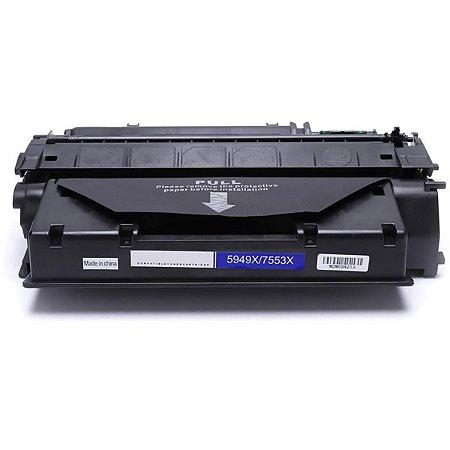 Toner Compatível Q7553X 53X | Q5949X 49X para uso em HP 1160 1320 3390 P2015 M2727 - 7K