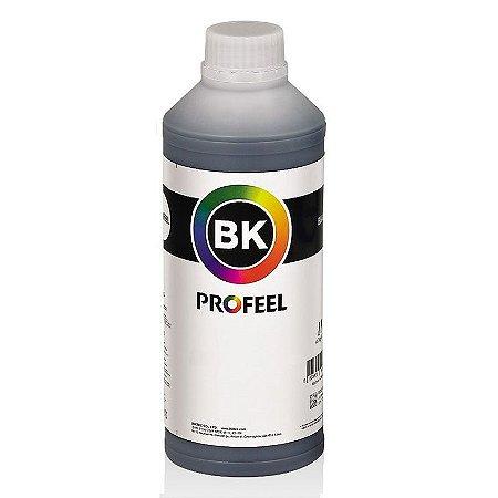 Tinta Profeel Pigmentada HP Black - 1 Litro Lacrado