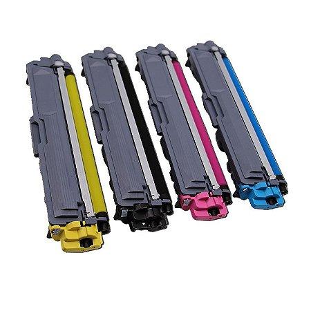 Kit 4 Toner Compatível TN-213 TN-217 | HL-L3210CDW, HL-L3230CDW, HL-L3270CDW, HL-L3290CDW, DCP-L3551CDW, DCP-L3550CDW, MFC-L3770CDW, MFC-L3750CDW, MFC-L3710CW,