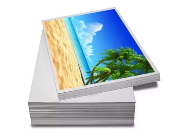 Papel Fotográfico A4 180g Glossy | Brilhante - Pacote com 20 Folhas