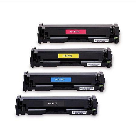 Toner Compatível com M-252DW M-277DW M252 M277 | CF-400A CF-401A CF-402A CF-403A da HP